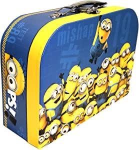 Minions suitcase ,School,Nursery,Picnics Lunch Bag,Official Licensed