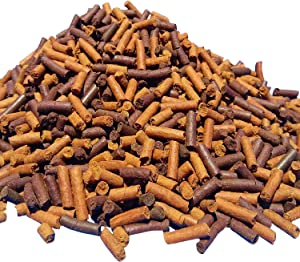 Aquatic Foods Inc. S&B Earthworm & Blackworm Sticks, Great for Carnivores, Bottom Fish, Turtles
