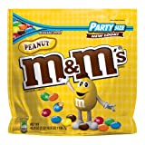 M&M'S Peanut Chocolate Candy Party Size 42-Ounce Bag
