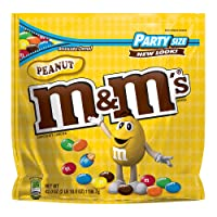 M&M'S Peanut Chocolate Candy Party