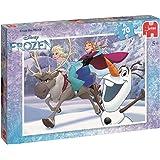 Jumbo Disney Frozen Jigsaw Puzzle (70-Piece, Multi-Colour)