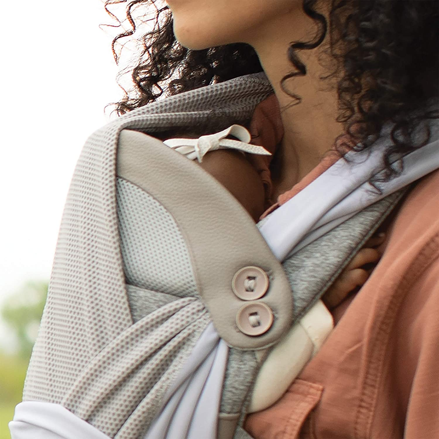 4 Carrying Positions Pearl Boppy ComfyChic Baby Carrier