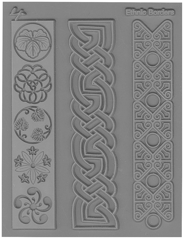 JHB International Inc Lisa Pavelka 527061 Texture Stamp Ethnic Borders