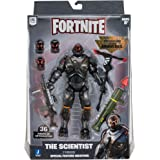 Fortnite Legendary Series Brawlers, 1 Figure Pack - 7 Inch The Scientist Action Figure, Plus Accessories