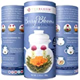 Teabloom Berry Flowering Teas - 12 Assorted, Delicious Berry Blooming Teas - Fresh, Handpicked Ingredients - Premium…
