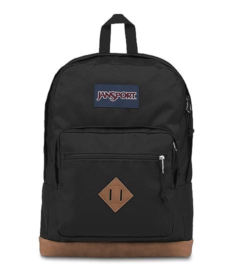 Amazon.com  JanSport JS0A3P3U008 City View Backpack (Black)  Sports ... 112f4ac3be423