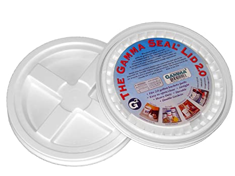 Camping Toilet Gamma : Amazon.com : 2 gamma seal lids for 2 gallon standardized buckets do