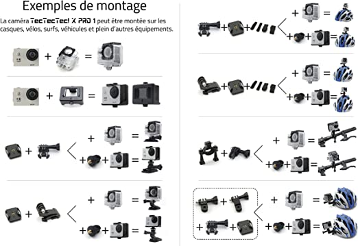 Tectectec Xpro1 Action Cam Wlan Hd Full Hd 1080p Kamera