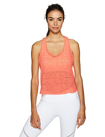 5b8051414d129 Alo Yoga Women s Hollow Tank at Amazon Women s Clothing store