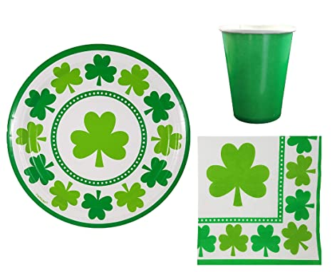 Amazon Com St Patricks Day Party Supplies Pack For 32