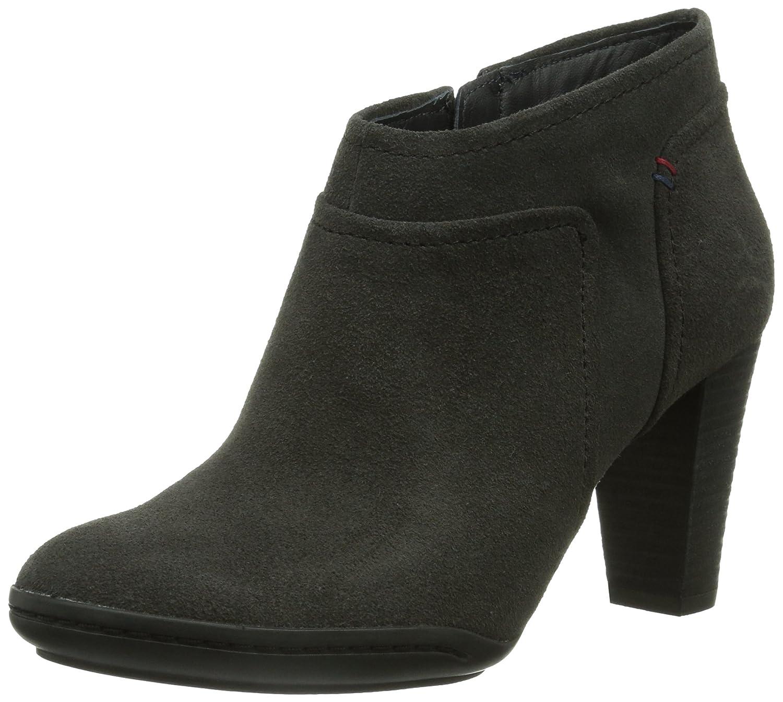 Tommy Hilfiger Nicole 5B, Botines tacón para Mujer, Gris-Grau (Asphalt 024), 38 EU: Amazon.es: Zapatos y complementos