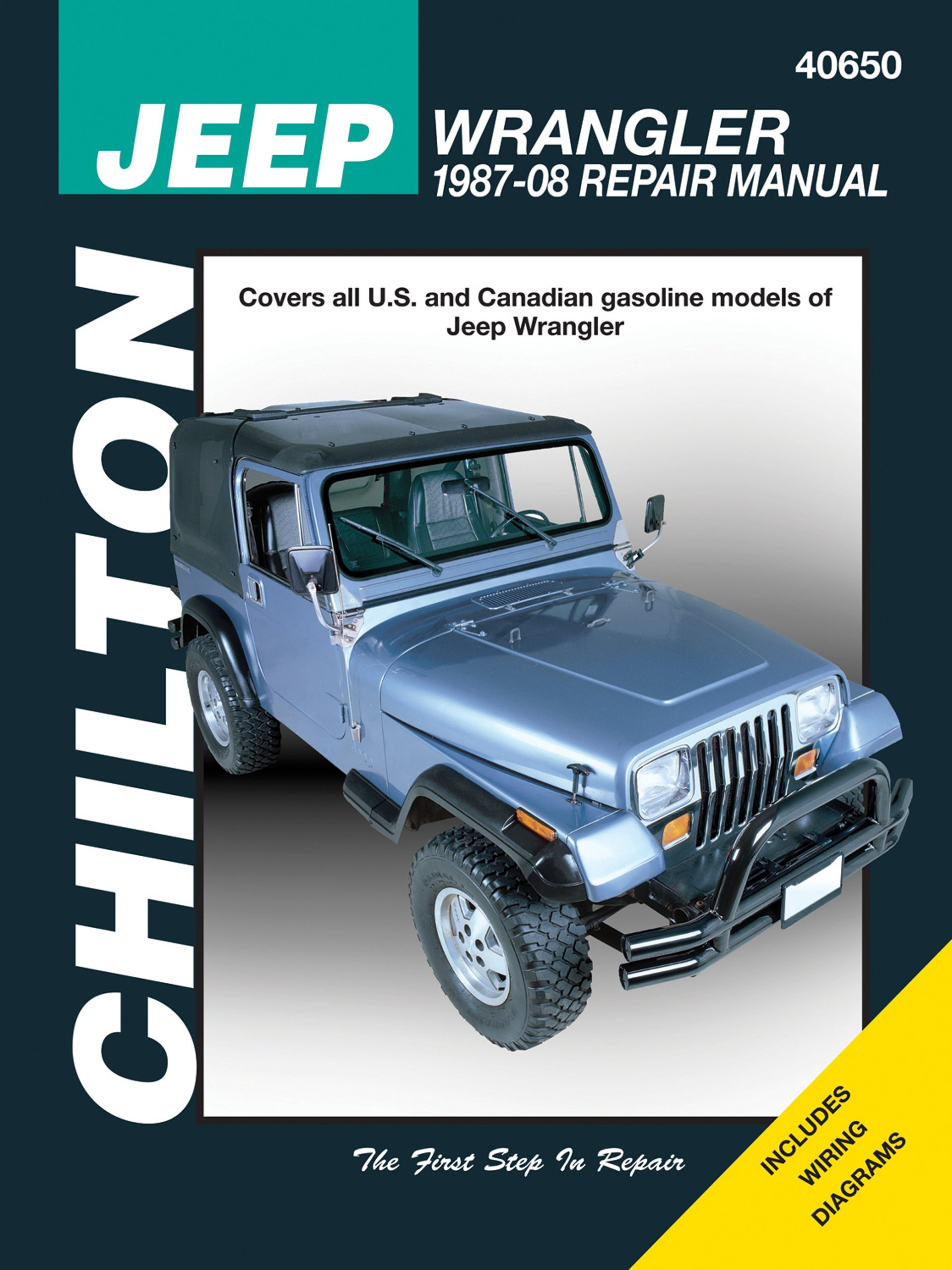 jeep wrangler 1987 2008 chilton s total car care repair manual rh amazon com 1998 Jeep Wrangler Custom 1998 jeep wrangler tj service manual