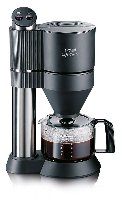 Severin KA 5702 Cafetera Café Caprice, 1450 W, Gris y negro ...