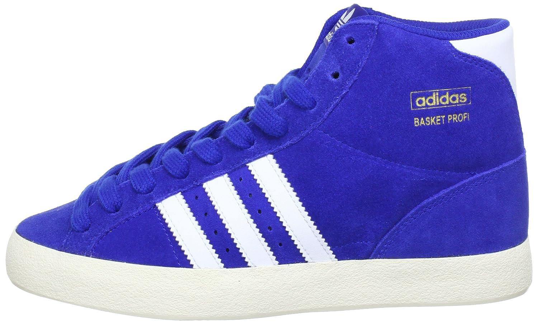size 40 f94f6 0387b adidas Originals Men s Basket Profi Hi-Top Sneakers blue Size  5.5   Amazon.co.uk  Shoes   Bags