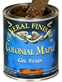 General Finishes CMP Oil Base Gel Stain, 1 Pint, Colonial Maple