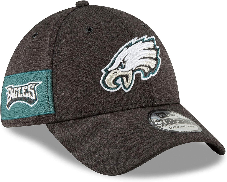 New Era Philadelphia Eagles 2018 NFL On Field Home 39THIRTY Cap Small//Medium Alternate Color Black