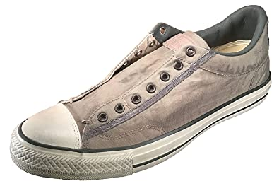 Converse by John Varvatos Distressed Painted Nylon Vintage Slip On Sneaker  (6 B(M