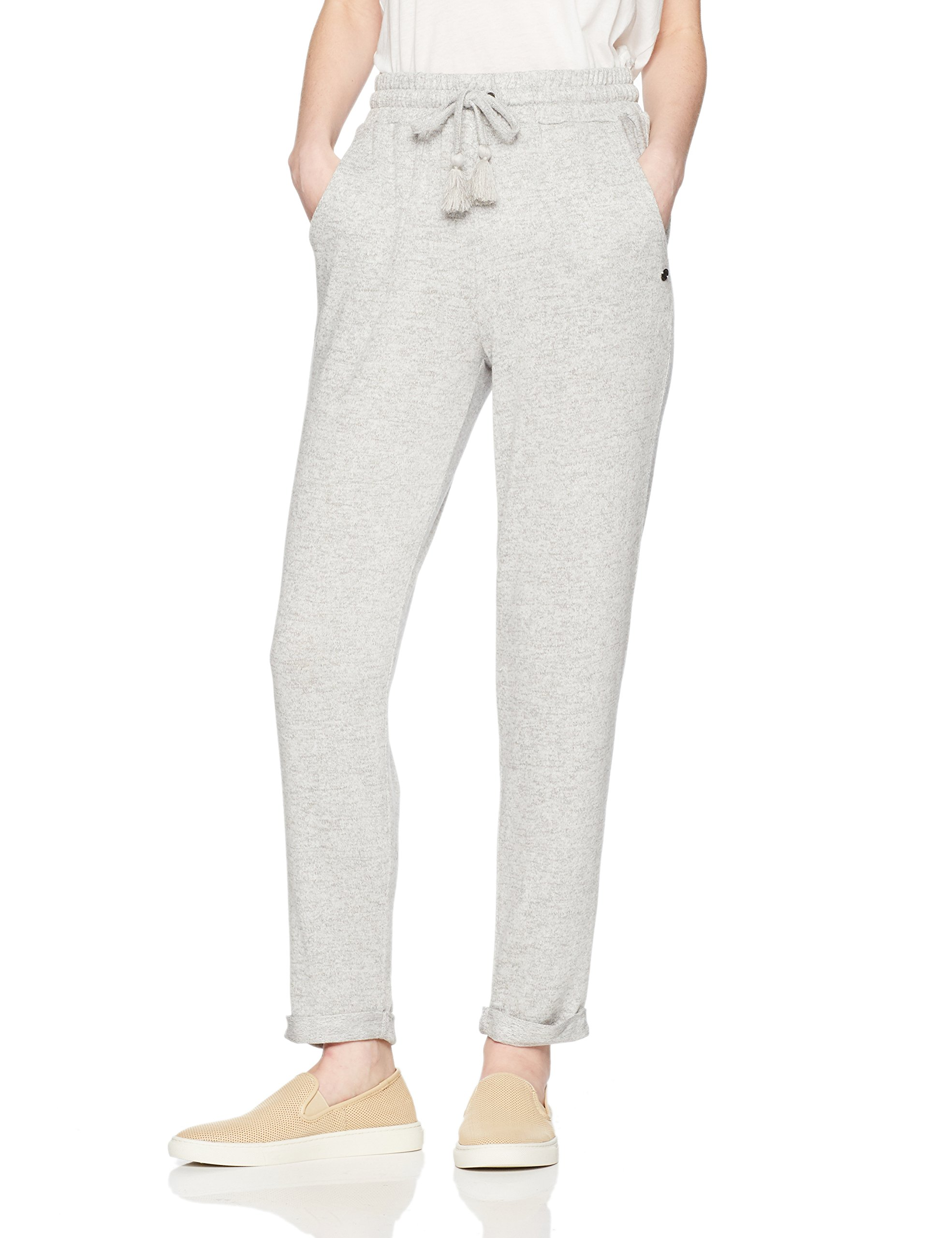 Roxy Junior's Cozy Chill Pant, Heritage Heather, XL