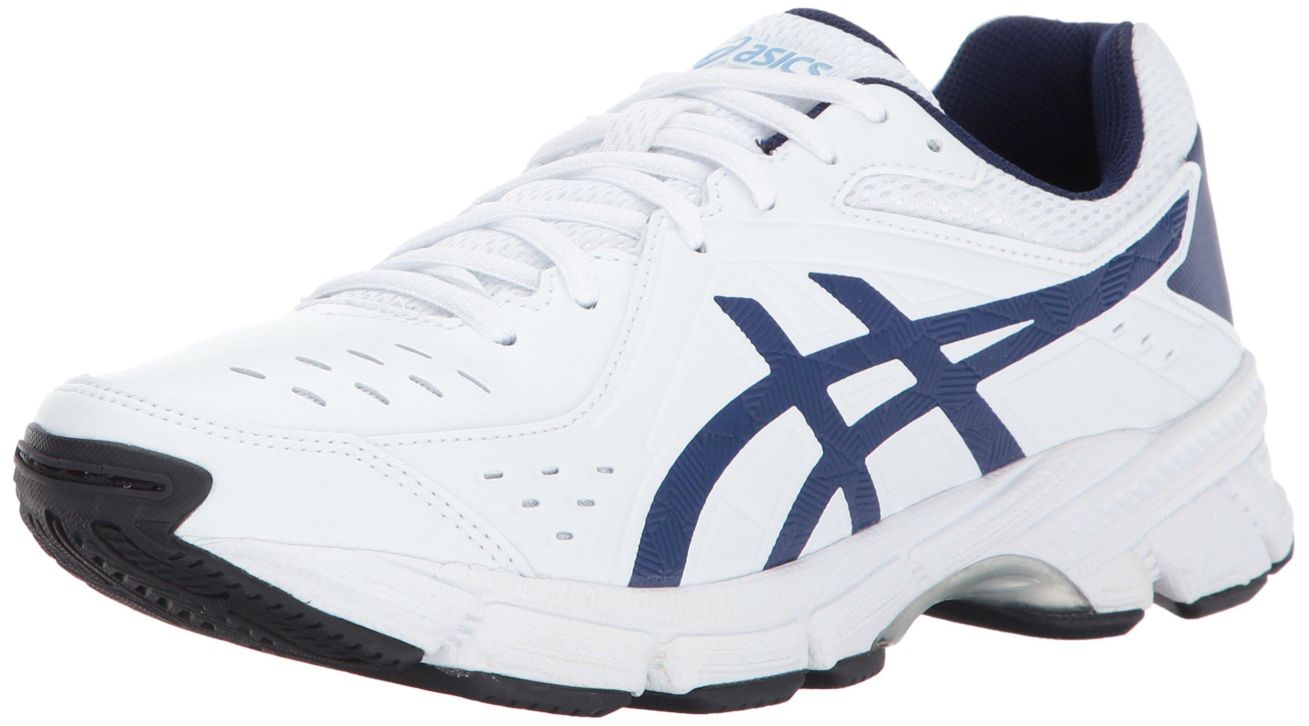 ASICS Women's Gel-195 TR Cross-Trainer-Shoes, White/Indigo Blue/Airy Blue, 9.5 D US