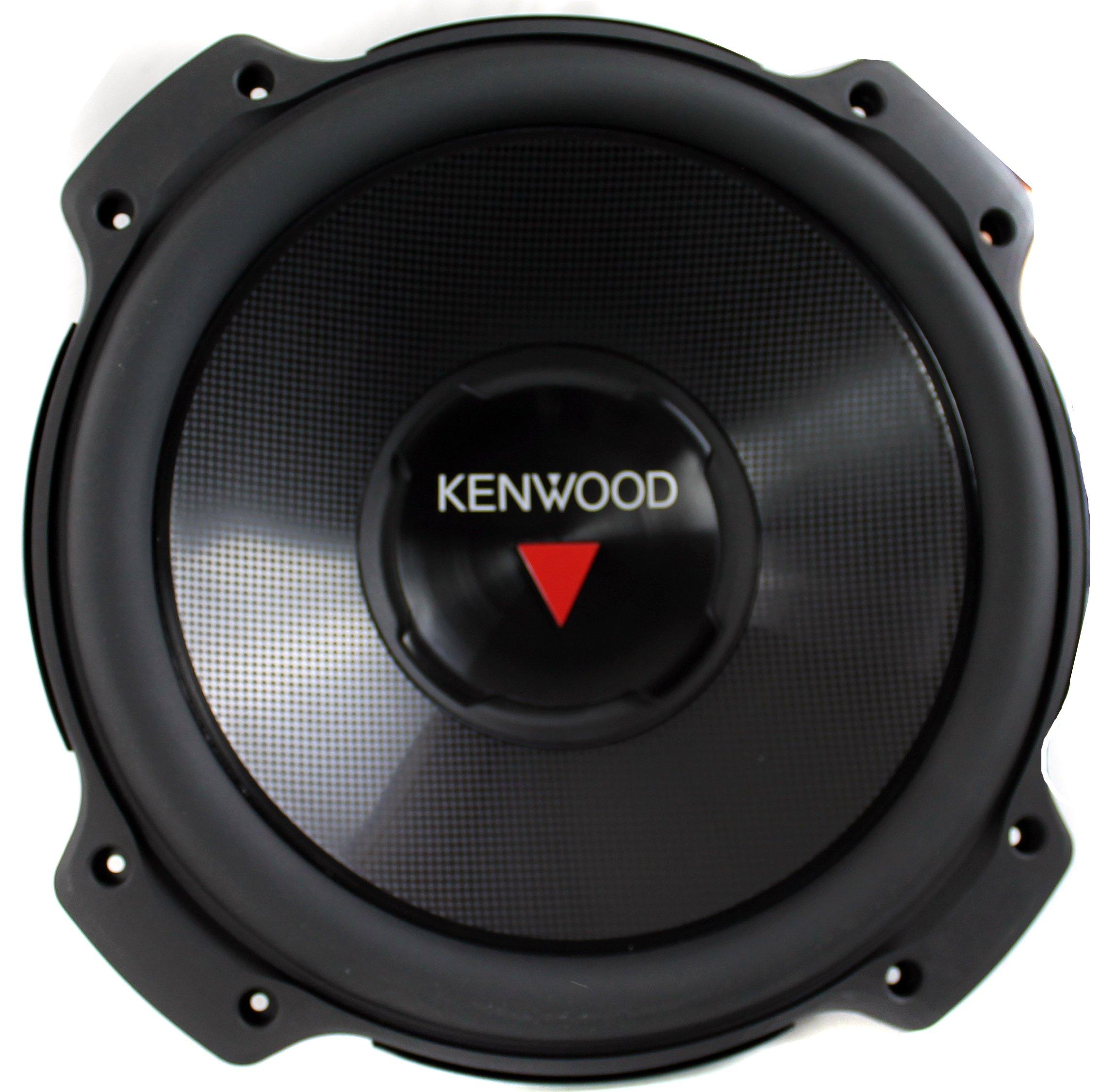 2) Kenwood KFC-W3016PS 12 Inch 2000W Subwoofers + Dodge Ram Quad Cab '02-New Box