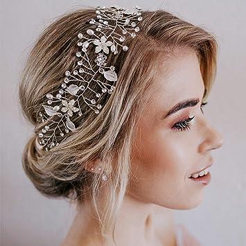 4 Pcs Bridal Wedding Girls Headpieces Accessories Hair DIY Jewelry Findings