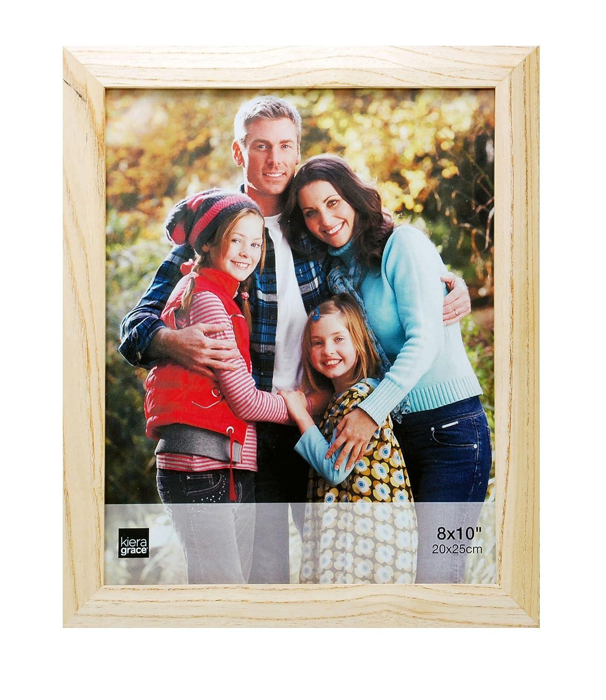 Kiera Grace Turner Wood Grain Picture Frame, 8 X 10-Inch, Oak AZ Home and Gifts PH41270-6