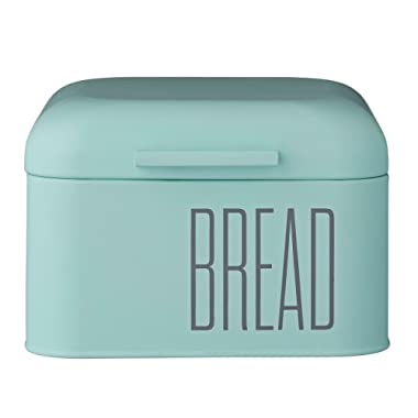 Bloomingville A97200001 Mint Green Metal Bread Bin