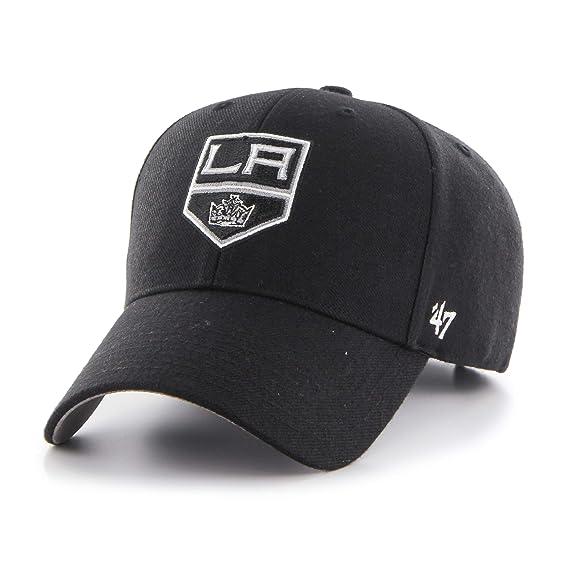 47 NHL Los Angeles Kings Black  47 MVP Cap  Amazon.es  Ropa y accesorios b851f92a370