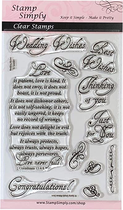 Stamps by Impression ST 0157 Apple Rubber Stamp