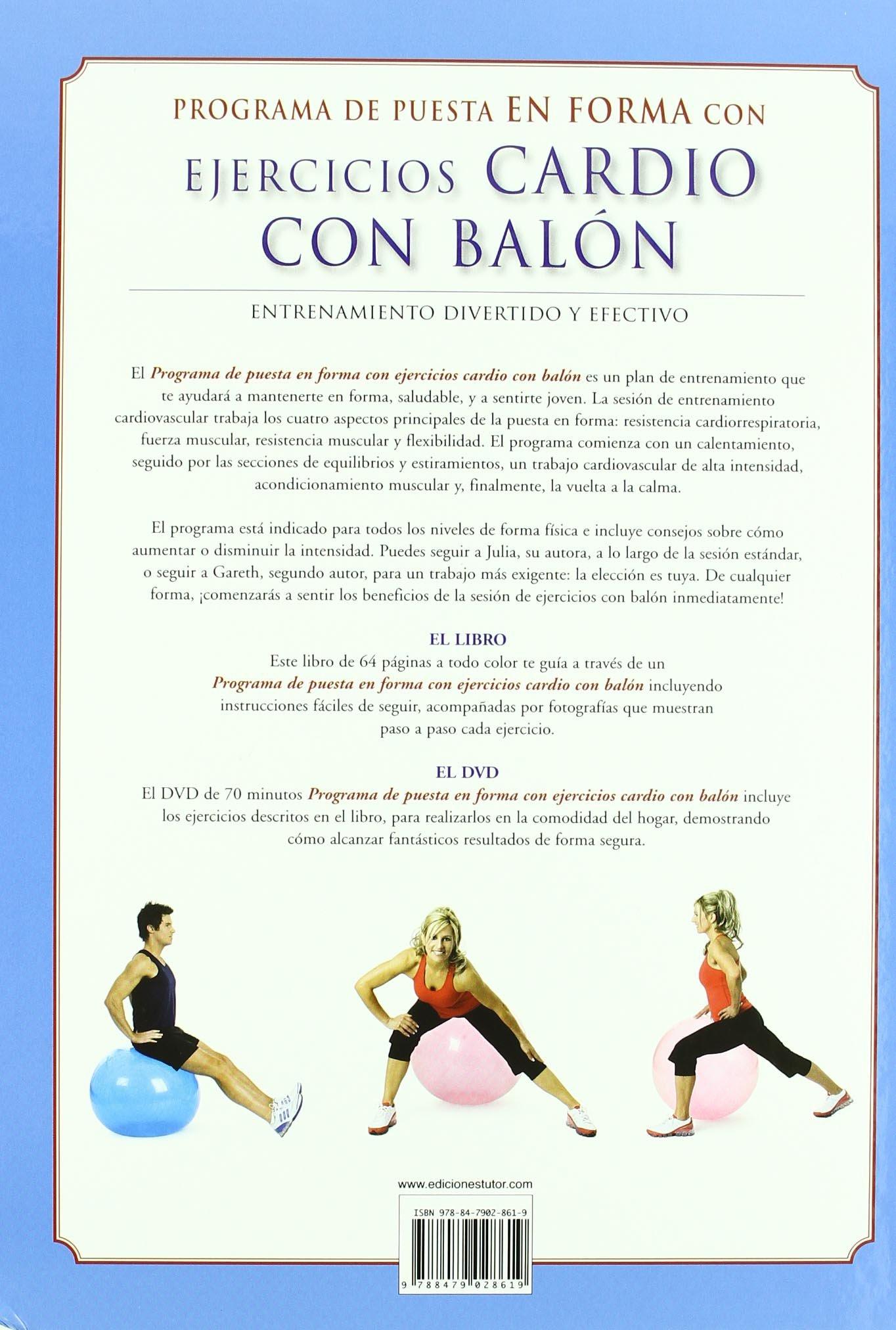 Ejercicios Cardio Con Balon Cardio Ball Fitness Workout