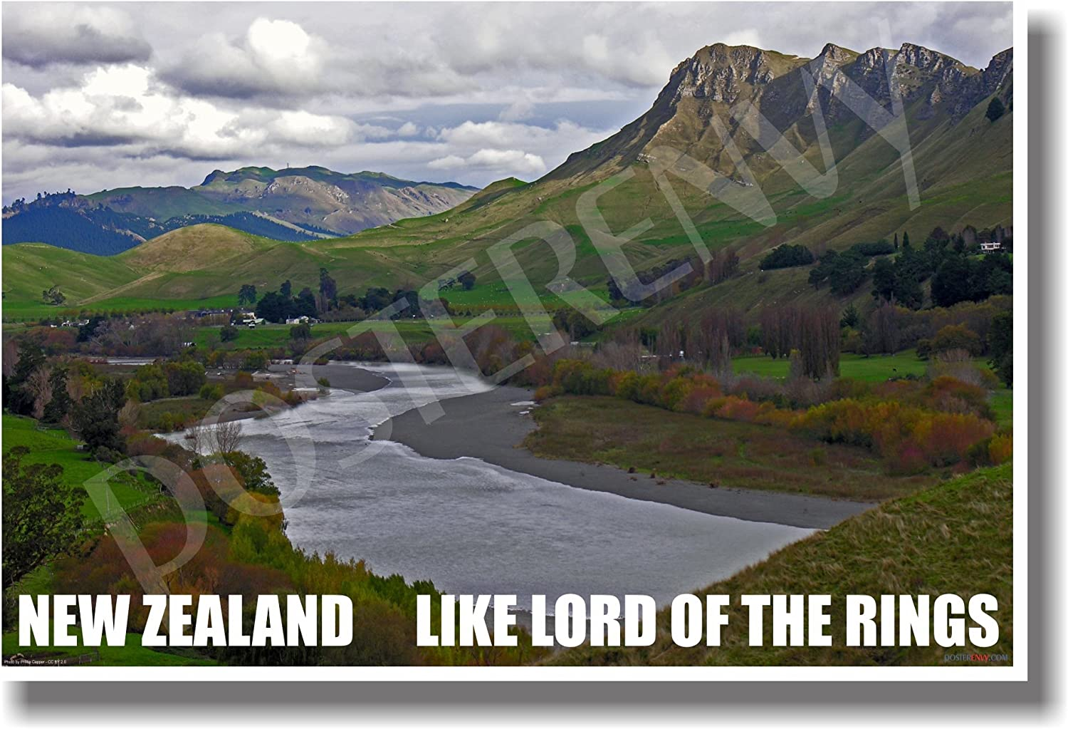 Amazon Com New Zealand Like Lord Of The Rings New World