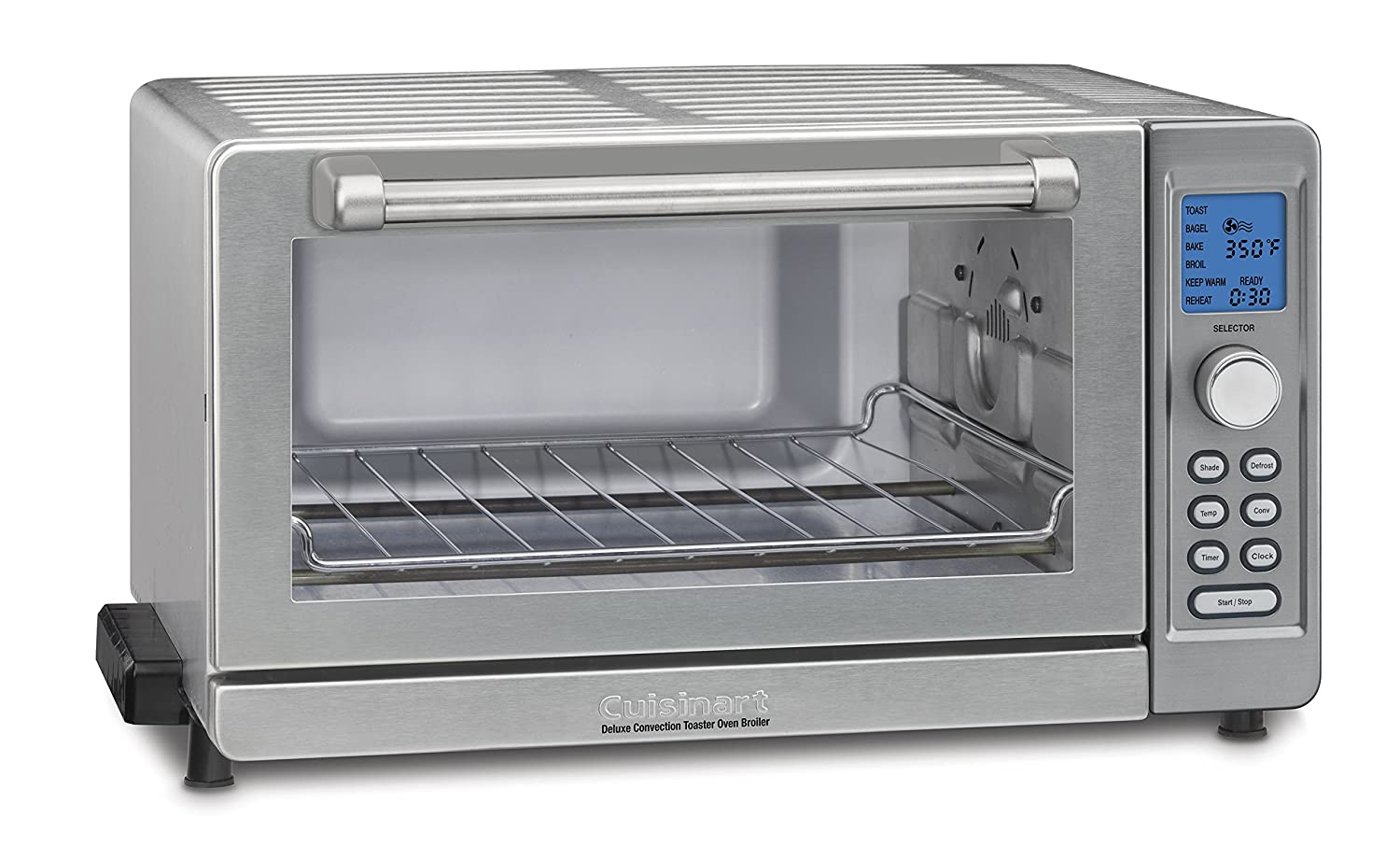Amazon.com: Cuisinart TOB-135N Deluxe Convection Toaster Oven ...