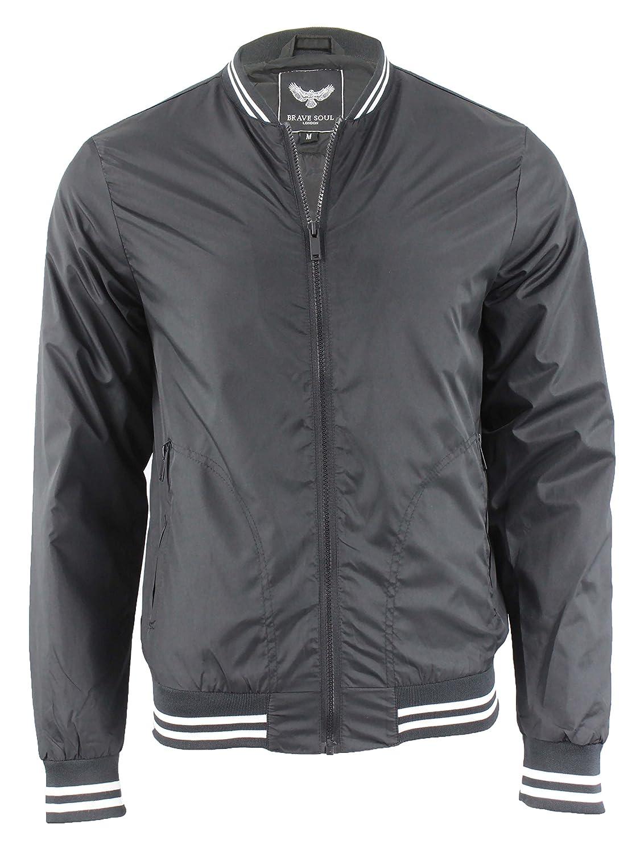Brave Soul Giacca Uomo Nero Black: Amazon.it: Abbigliamento