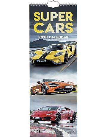 Uofa Fall 2020 Calendar.Supercars 2020 Slim Calendar Amazon Co Uk Browntrout