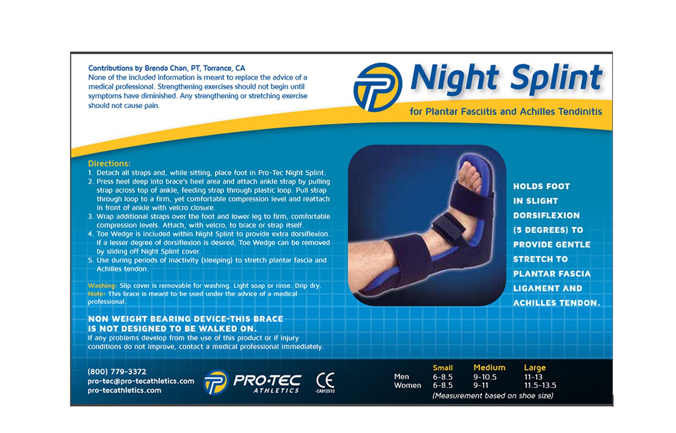 Pro-Tec Athletics Night Splint (Large) by Pro-Tec Athletics