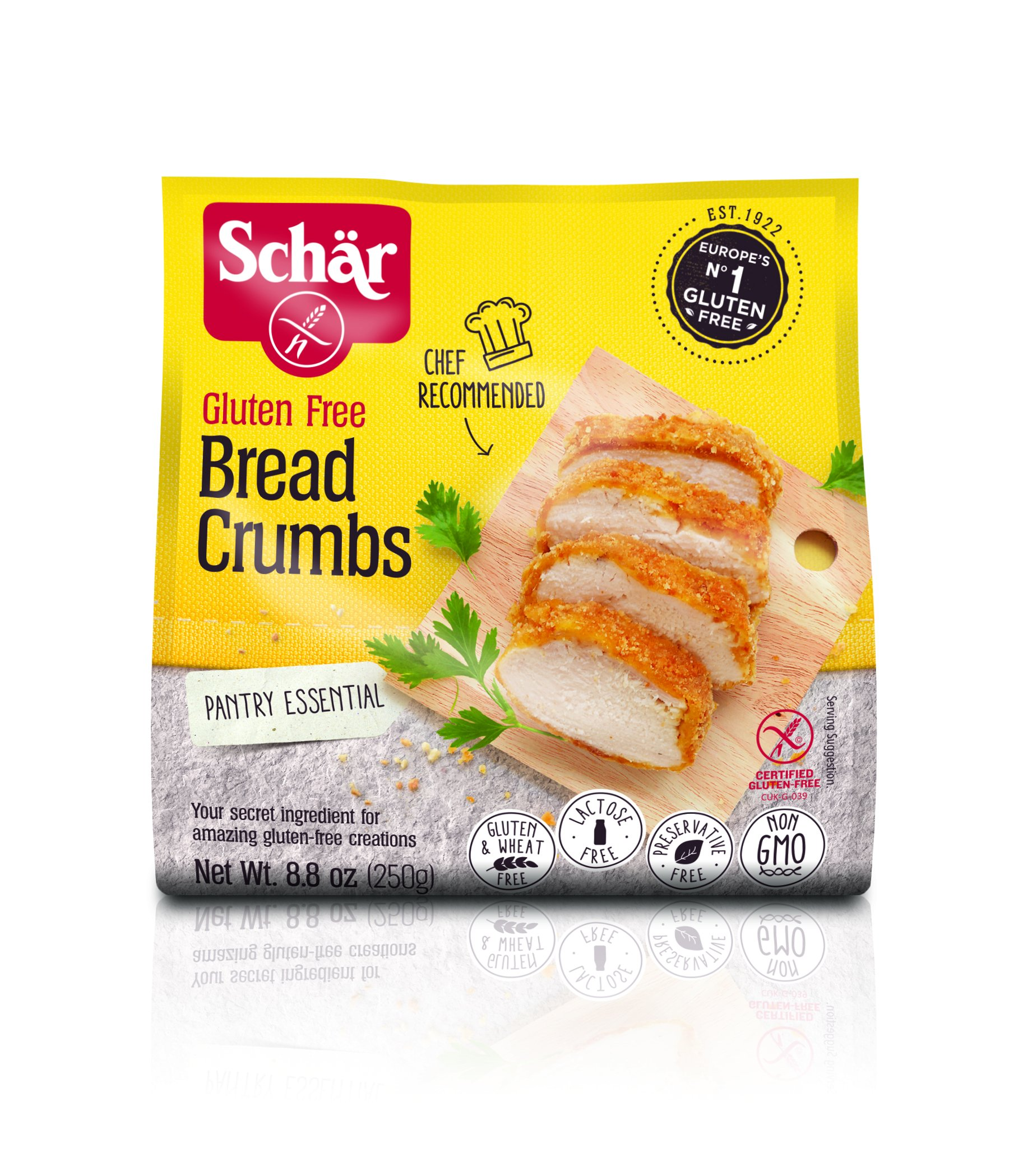 Schär Gluten Free Bread Crumbs, 8.8 oz., 12-Pack by Schar