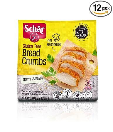 Schar miga de pan, sin gluten, 8.8-ounce (Pack de 12 ...