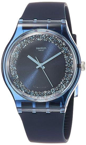Swatch Reloj Analógico para Hombre de Cuarzo con Correa en Silicona  SUON134  Amazon.es  Relojes 2527f82c6b6c