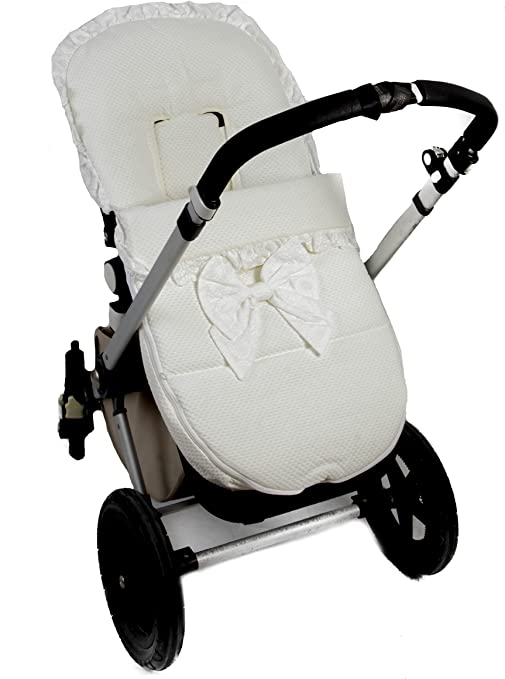 Saco silla Bugaboo (Serie Capricho) Color marfil: Amazon.es: Bebé
