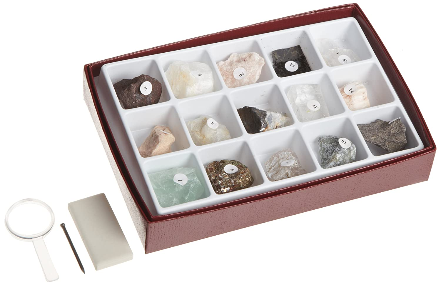 American Educational 15 Piece Mineral Study Economy Kit 2343