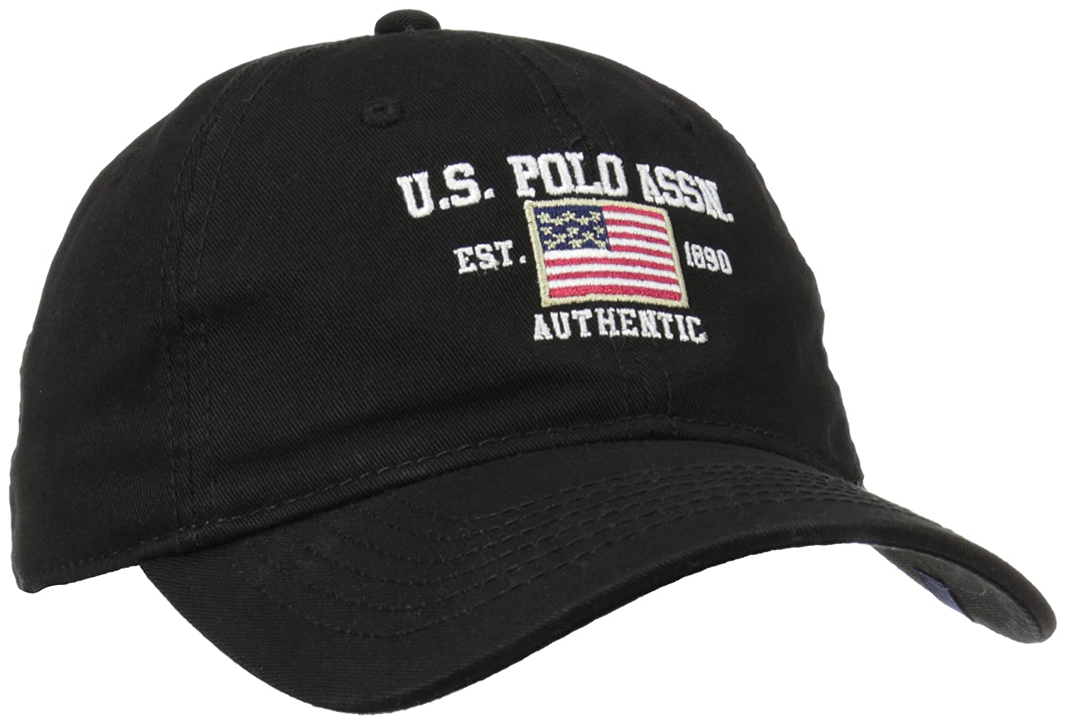 4e2f99227cbb7 U.S. Polo Assn. Men s Us Polo Association Flat Baseball Cap