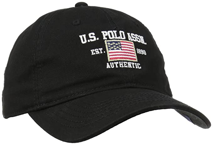0a623f98991 U.S. Polo Assn. Men s Us Polo Association Flat Baseball Cap
