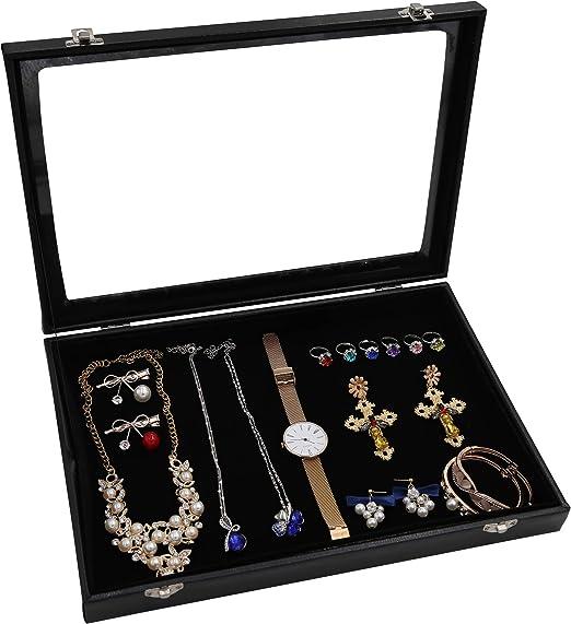 Fruit Design Velvet Earring Ring Jewelry Holder Display Mini Storage Box Case WE