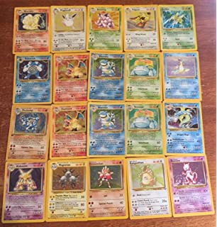 Pokemon 60 Card Lot GUARANTEED HOLOS, RARES And First Edition All Original, 1st/