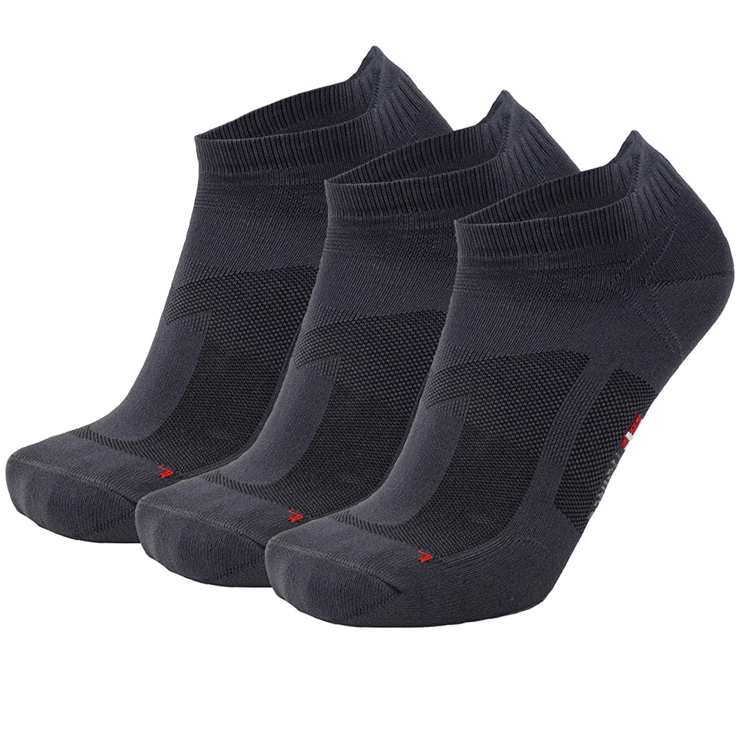 Sneakers Anti-Blister Athletic Socks for Sports for Men /& Women 3 Pack Low-Cut Running Socks