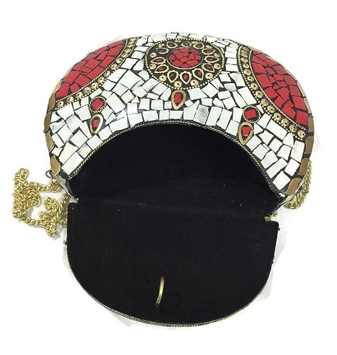 Amazon.com: Lite sombra mosaico de piedra chip metal Bolsa ...