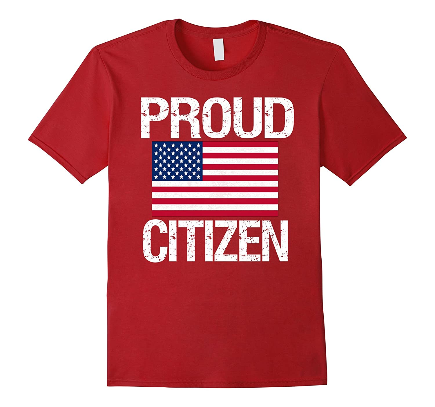 AM American Citizen Shirts: Proud American Citizen T-Shirt-BN