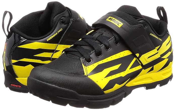 Mavic Deemax Pro - Zapatillas - Amarillo/Negro Talla 43 1/3 2018: Amazon.es: Zapatos y complementos