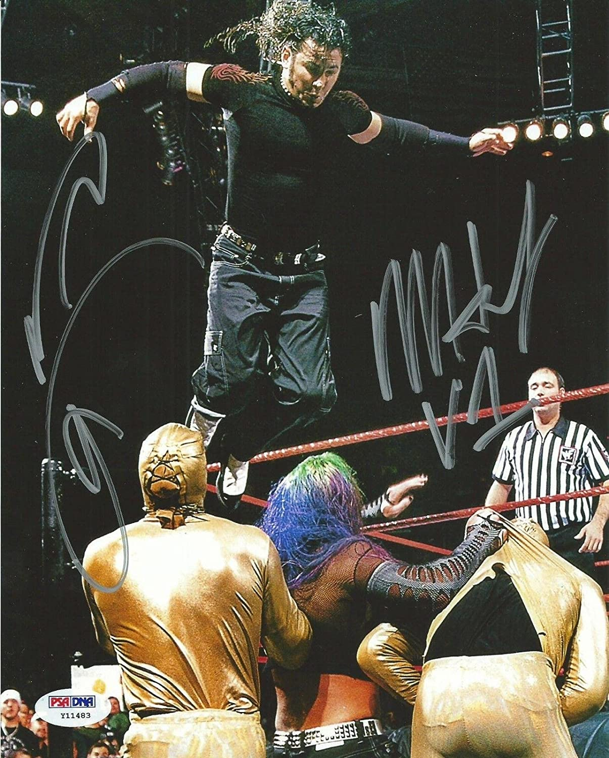 Wwe tna jeff hardy autographed 11x14 photo auto signed autograph - Matt Jeff Hardy Signed Wwe 8x10 Photo Coa Boyz Boys Picture Autograph Psa Dna Certified Autographed Wrestling Photos At Amazon S Sports Collectibles