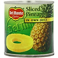 Del Monte Pineapple Slices in Juice 432 g (Pack of 12)